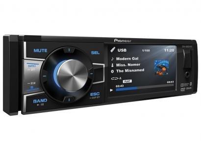 "DVD Automotivo Pioneer DVH-8880AVBT Tela 3,5"" - Bluetooth 92 Watts RMS Entrada..."