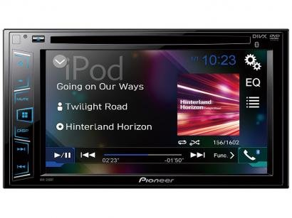 "DVD Automotivo Pioneer AVH-298BT 6.2"" Touch - Bluetooth 23W RMS Entrada para..."