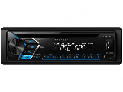 Som Automotivo Pioneer DEH-S1080UB CD Player - MP3 Player Rádio AM/FM Entrada...