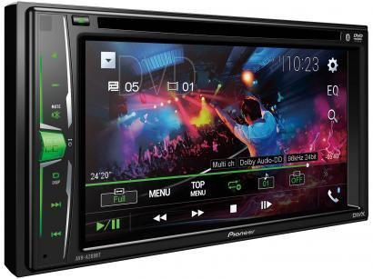 """DVD Automotivo Pioneer AVH-A208BT 6,2"""" Bluetooth - 23W RMS Entrada para Câmera..."""
