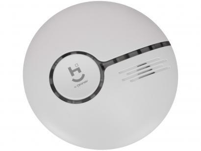 Sensor de Fumaça Inteligente de Teto - Cobertura 360º Até 30m Geonav Home Intelligence