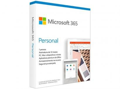 Office 365 Personal 1 Ano - Microsoft