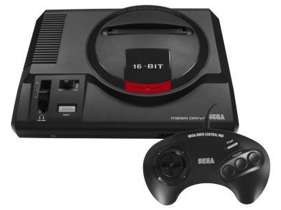 Console Mega Drive 1 Joystick - 22 Jogos Clássicos na Memória Tectoy