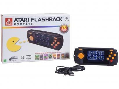 Atari Flashback 8 Portátil Tectoy - com 70 Jogos