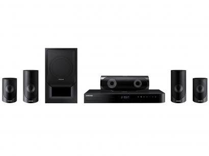 Home Theater Samsung Bluetooth Blue-ray - com DVD Karaokê 1000W 5.1 Canais HDMI...