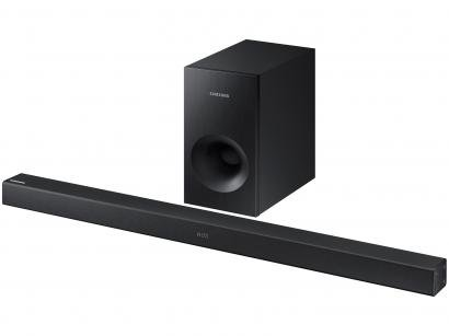 Soundbar Samsung 2.1 Canais 130W Bluetooth - Subwoofer USB Wireless HW-K360