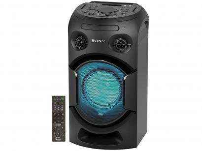 Mini System Sony Bluetooth DVD USB MP3 CD Player - Rádio AM/FM 500W 1 Caixa...
