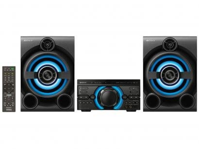 Mini System Sony Bluetooth 1600W CD Player DVD - Karaokê HDMI USB MHC-M60D