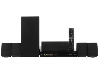 Home Theater LG LHB625M c/Blu-Ray 3D c/ DVD - 1000W 5.1 Canais Wireless Conexão...