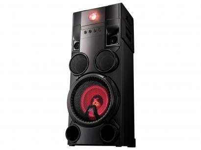 Mini System LG 1 CD 1000W RMS MP3 Karaokê - USB OM7560