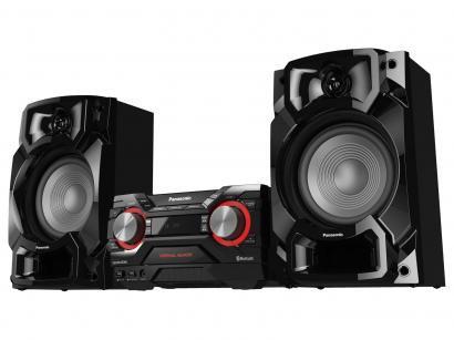 Mini System Panasonic Bluetooth USB Rádio AM/FM - 580W SC-AKX440LBK