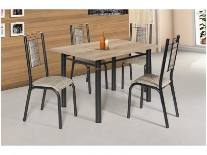 Conjunto de Mesa 4 Cadeiras - Ciplafe Bela