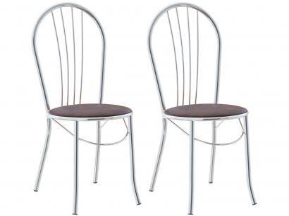 Cadeira para Cozinha 2 Peças Brigatto - Fortaleza