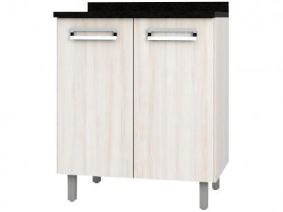 Balcão de Cozinha Poliman Móveis 2 Portas Luiza - D31000