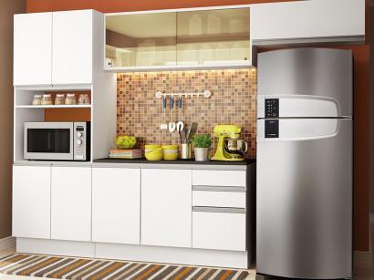 Cozinha Completa Madesa Smart Plus GRGM270002 - com Balcão 10 Portas