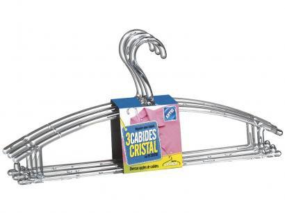 Conjunto de Cabides Tintuteiro 3 Peças - Arthi 5872