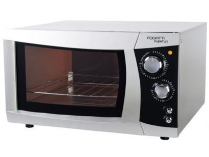 Forno Elétrico Fogatti Super Prata 45L Grill - Timer