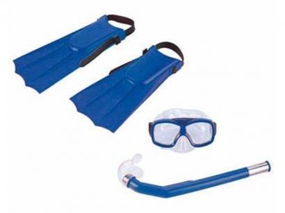 Kit de Mergulho Infantil 4 Peças - Nautika Divers