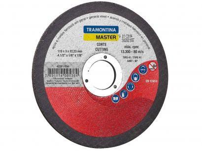 "Disco de Corte Ideal para Aço 4.1/2"" - Tramontina 42591004"