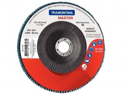 "Disco Flap Desbaste 7"" Tramontina - 42617004"