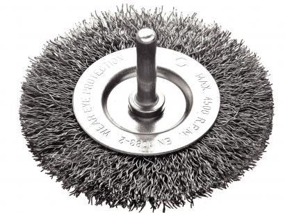 Escova Circular de Arame Ondulado com Haste - Tramontina 42607102