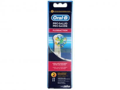 Refil para Escova Elétrica Oral-B FlossAction - 2 Unidades