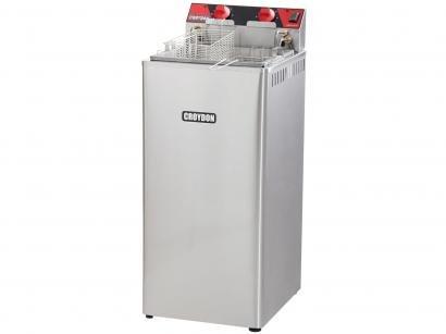 Fritadeira Elétrica Industrial Croydon FA282 - 31L Inox Água e Óleo com 2 Cestos