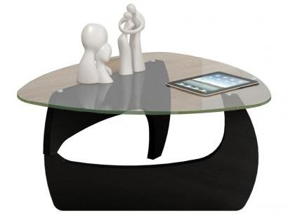 Mesa de Centro Cult com Tampo de Vidro - Artely