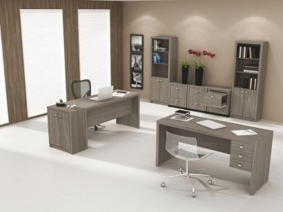Escrivaninha/Mesa para Computador 3 Gavetas - Tecno Mobili ME 4113