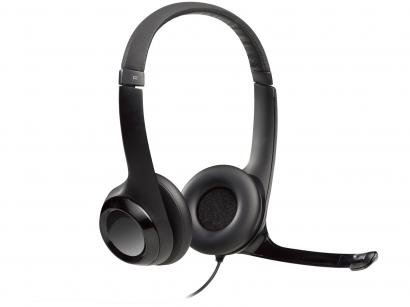 Headset Logitech H390 Preto