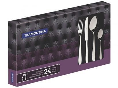 Faqueiro Tramontina Mônaco 66917/005 Inox - 24 Peças