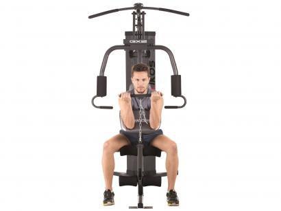 Estação/Aparelho de Musculação Kikos GX2 - 25 Exercícios até 130Kg