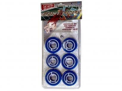 Jogo de Futebol de Botão - com 10 Botões - Klopf 34091