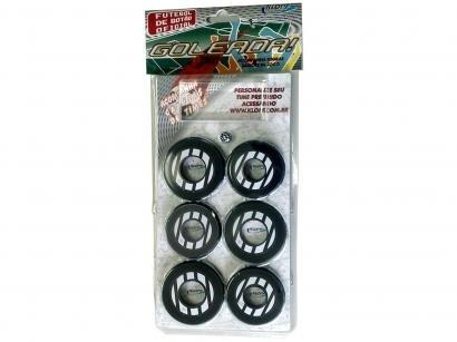 Jogo de Futebol de Botão - com 10 Botões - Klopf 34093