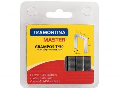 Conjunto de Grampos T/50 10mm com 1.000 Unid. - Tramontina 43500510