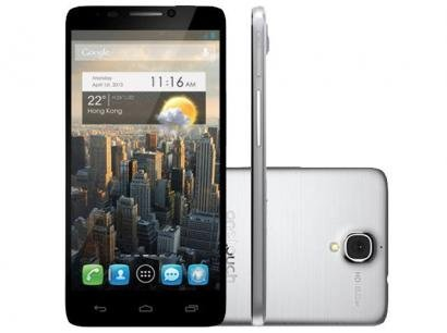 "Smartphone Alcatel Idol One Touch 16GB Dual Chip - 3G Câm. 8MP Tela 4.7"" Proc...."