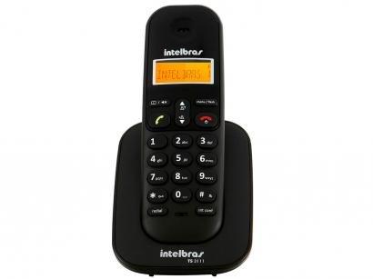 Ramal Sem Fio Intelbras TS 3111 - para Bases TS 3110, TS 3130, TS 40 ID ou TS...
