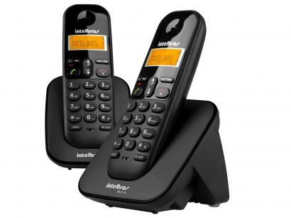Telefone Sem Fio Intelbras TS 3112 de Mesa 1 Ramal - com Identificador de...