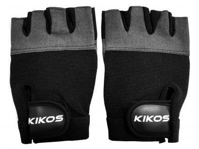 Luva para Academia/Musculação - Kikos AB2069 Preta
