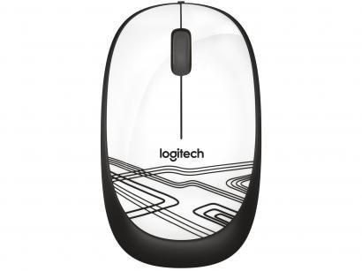 Mouse Logitech Laser 2 Botões M105 Branco