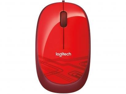 Mouse Logitech Laser 1000DPI 2 botões M105