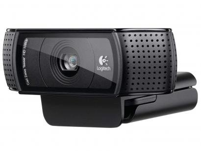Webcam 15MP Full HD 1080p com Foco Automático - Lente Óptica Carl Zeiss -...