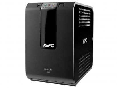 Nobreak APC 600VA Bivolt - Back Ups BZ Filtro de linha integrado 3 Estágios