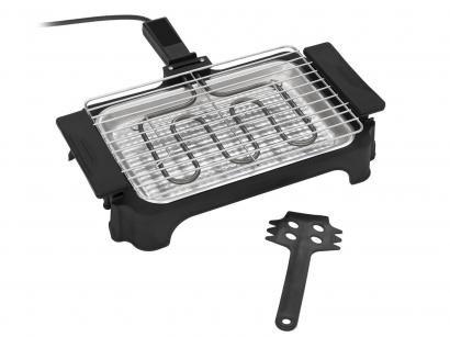 Churrasqueira Elétrica Anurb 1000W Inox - Petit Grill Plus