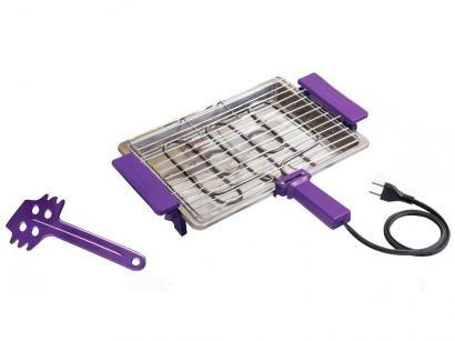 Churrasqueira Elétrica 1250W Anurb Inox - Light Grill