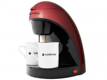 Cafeteira Elétrica Cadence Single Colors CAF111 - 2 Xícaras Vermelho