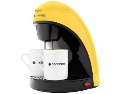 Cafeteira Elétrica Cadence Single Colors CAF114 - 2 Xícaras Amarelo