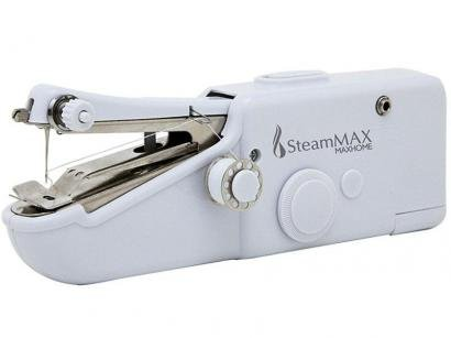 Mini Máquina de Costura Steam Max MaxHome SM-505 - c/ Três Bobinas Recarregável...