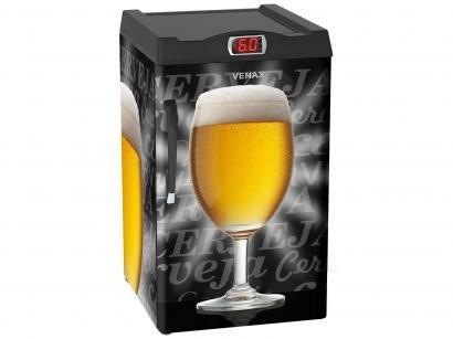 Cervejeira/Expositor Vertical Venax 82L - EXPM 100 1 Porta Painel Termostato...