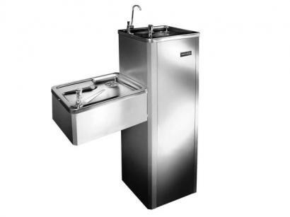 Bebedouro de Coluna Refrigerado por Compressor - Inox Masterfrio MFA40